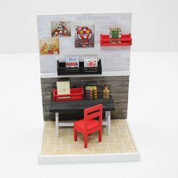 [adico]DIY 미니어처 룸 - 작업실