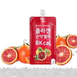 [무료배송] 스키니윗치콜라겐곤약젤리 블러드오렌지 + 맛보기3종