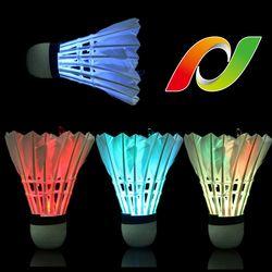 엔포유 배드민턴 LED 야광 셔틀콕 BM-S105 거위깃털