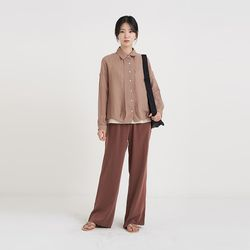 organic jacket shirt (3colors)