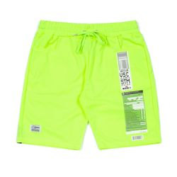 IMMIGRATION COOLON SHORT PANTS NEON GREEN
