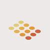 골드 그라데이션 도트 스티커 Gold Gradient Dot Sticker