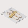 골드페이퍼클립 gold plated steel paper clip