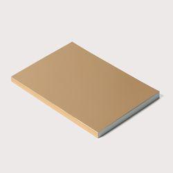 골드노트 B6 size Gold Plain Notebook
