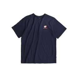 UL:KIN ARTIST T-SHIRT SHOW SLOTH MOVE-NAVY