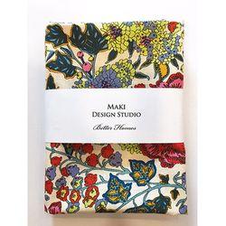 [Maki Design Studio]패턴손수건-1.방울꽃블루