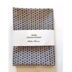 [Maki Design Studio]패턴손수건-11.정육면체