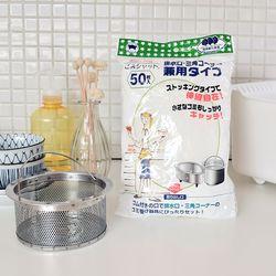 일본 싱크대 배수구망 50P세트(화이트)