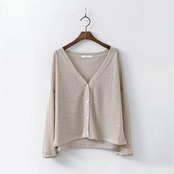 Linen Eight Cardigan