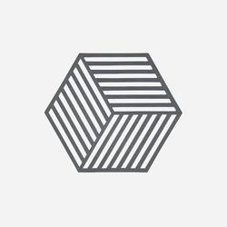 존덴마크 존 헥사곤 팟홀더 실리콘 냄비받침 - 쿨그레이