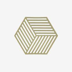 존덴마크 존 헥사곤 팟홀더 실리콘 냄비받침 - 올리브