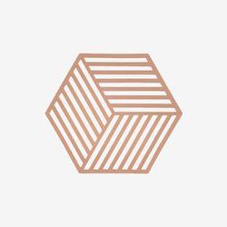 존덴마크 존 헥사곤 팟홀더 실리콘 냄비받침 - 누드