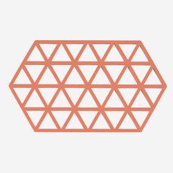존덴마크 존 빅 트라이앵글 팟홀더 실리콘 냄비받침 - 피치