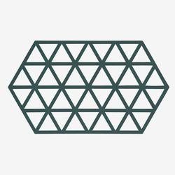 존덴마크 존 빅 트라이앵글 팟홀더 실리콘 냄비받침 - 딥그린