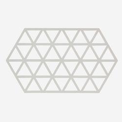 존덴마크 존 빅 트라이앵글 팟홀더 실리콘 냄비받침 - 웜그레이