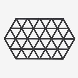 존덴마크 존 빅 트라이앵글 팟홀더 실리콘 냄비받침 - 블랙