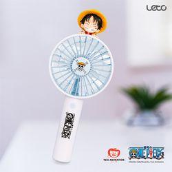 원피스 피규어 미니 휴대용 선풍기 (루피)