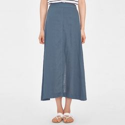 jane linen long skirt