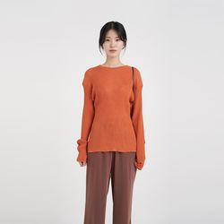 slim golgi loose knit (4colors)