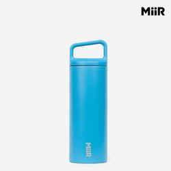 미르 와이드마우스 텀블러 16온스(473ml) - 블루