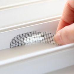 창문 미세 물구멍 벌레 틈새막이 방충망 화이트 5p