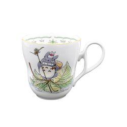 [이웃집 토토로] 노리타케 토토로 머그컵-8(잎사귀배)