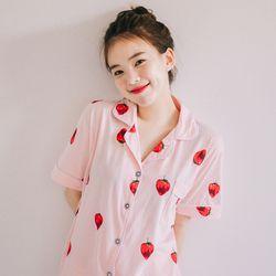 잠옷 딸기파자마