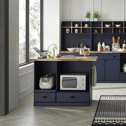블루진 아일랜드 홈빠식탁