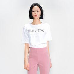 엄지척 레터링 티셔츠