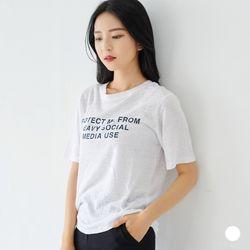 부루앤쥬디 프로텍트 티셔츠 P1KF2TG001
