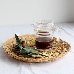 라탄 채반 (대)