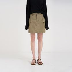 cargo mini skirt (2colors)