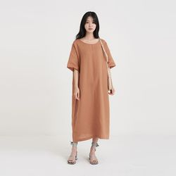 natural loose one-piece (3colors)