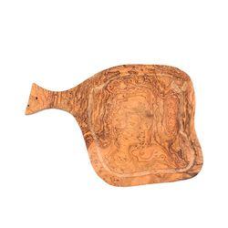 손잡이형 올리브 원목 도마(소)
