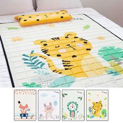 쥬쥬 인견 매쉬 누빔 패드캐릭터 (100x140cm)