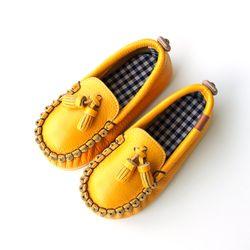 로퍼 옐로우 아기 신발 구두 걸음마신발 여아 아동화
