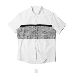 차이나카라 남자반팔셔츠