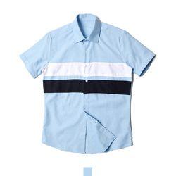 소라 남자반팔셔츠