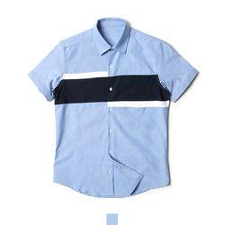 블럭 소라 남자반팔셔츠