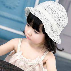 리본 레이스 유아 벙거지모자(44-52cm) 500081