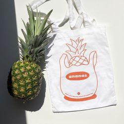 Ananas Cotton Bag - 에코백