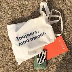 Toujour mon amour Light Cotton Bag - 에코백