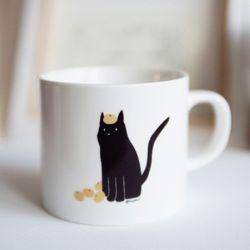귤과 고양이(CITRUS and CAT) 머그컵
