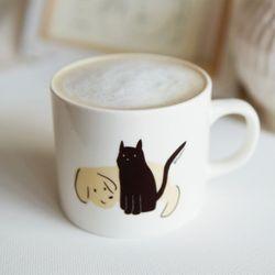 개와 고양이 (Dog & Cat) 머그컵