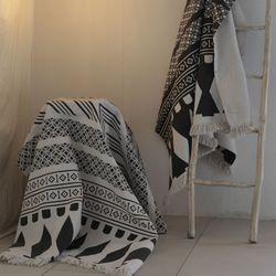 모던 에스닉 거실 면 러그 서재 카페트140x200cm