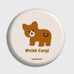 [손거울]Baby Welsh corgl-Ivory