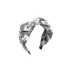 [오뜨르뒤몽드]bandana point hairband (white)