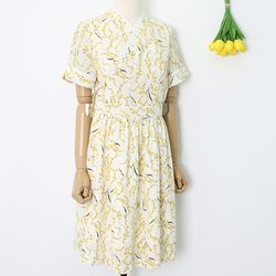 노랑방울꽃 철릭원피스