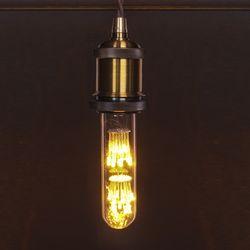 LED 눈꽃 에디슨 전구 T10