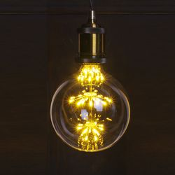 LED 눈꽃 에디슨 G125